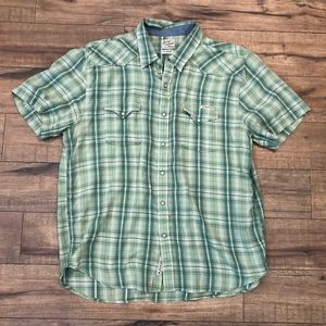 Lucky Brand Shirt Size XL (K210)